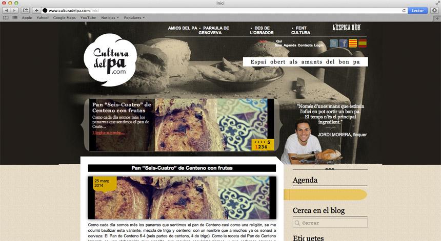 disseny gràfic, logo, web espiga d'or, vilanova i la geltru, garraf