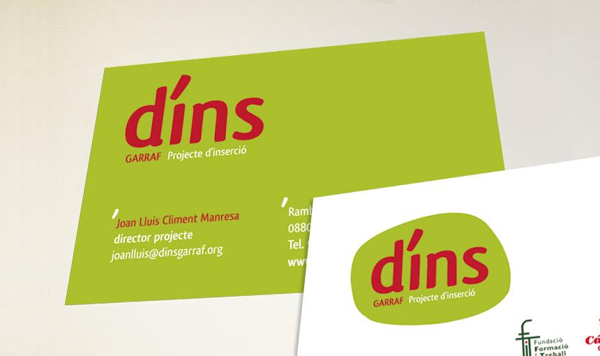 garraf, vilanova, disseny gràfic marca logo naming retols papereria