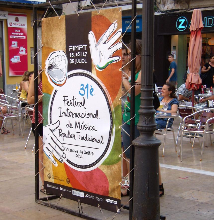 disseny gràfic Vilanova i la geltru, cartells, programa, publicitat, festival cultura