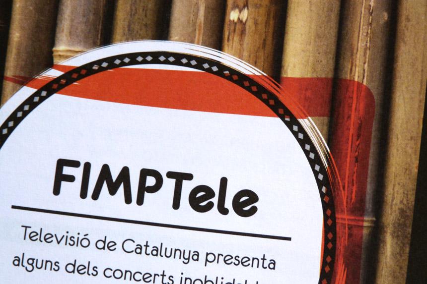 disseny gràfic Vilanova i la geltru, programa festival de musica FIMPT