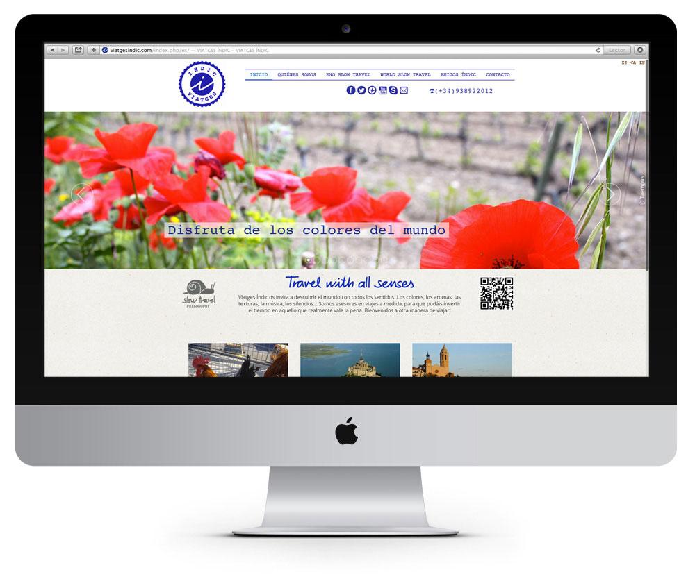 web i disseny grafic logotip identitat corporativa, agencia viatges, vilafranca, penedes