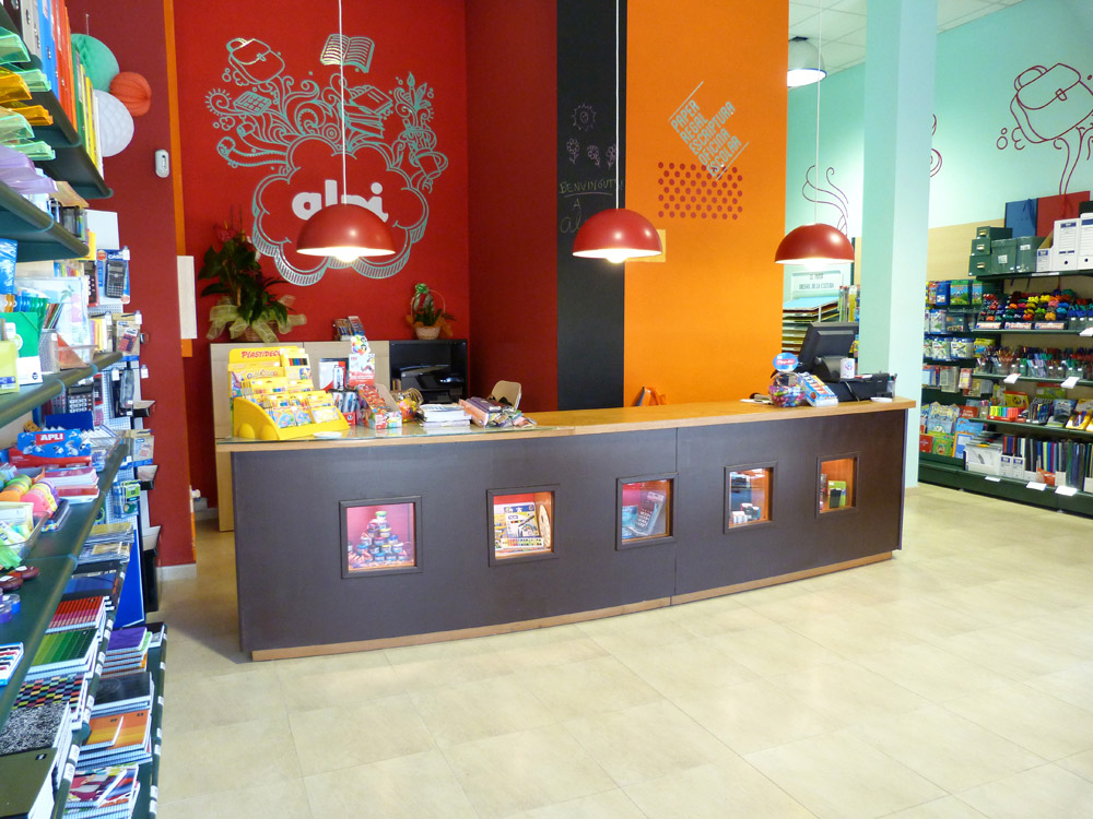 branding, disseny gràfic global, potiga papereria calafell tarragona