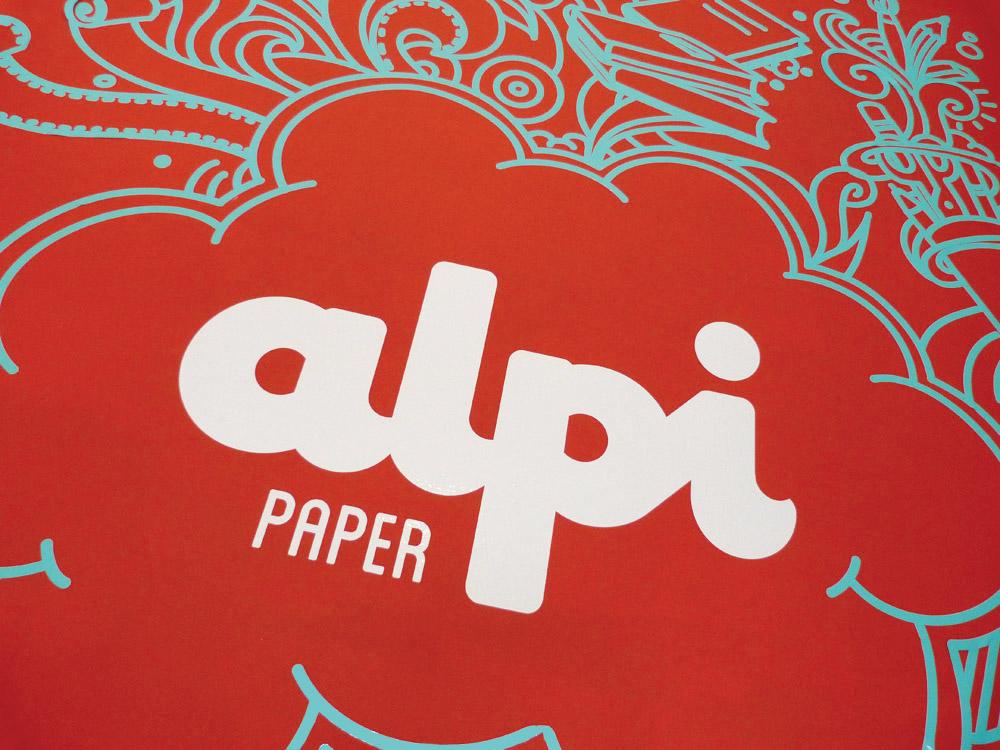 disseny gràfic Logo Calafell alpi