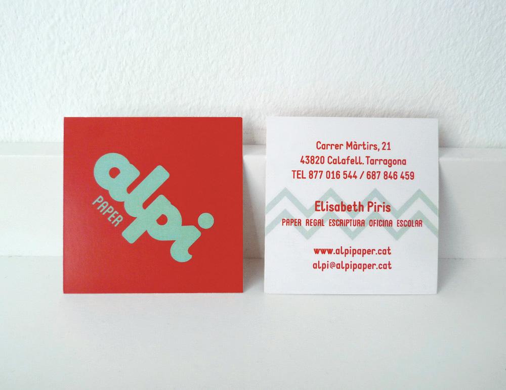 disseny gràfic targetes i logo empresa calafell tarragona