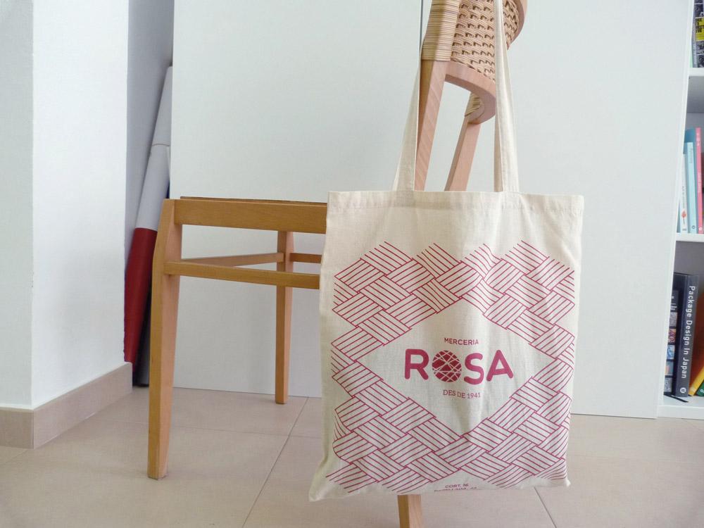 totebag, bossa cotó, disseny gràfic logo branding botiga comerç vilafranca, penedes
