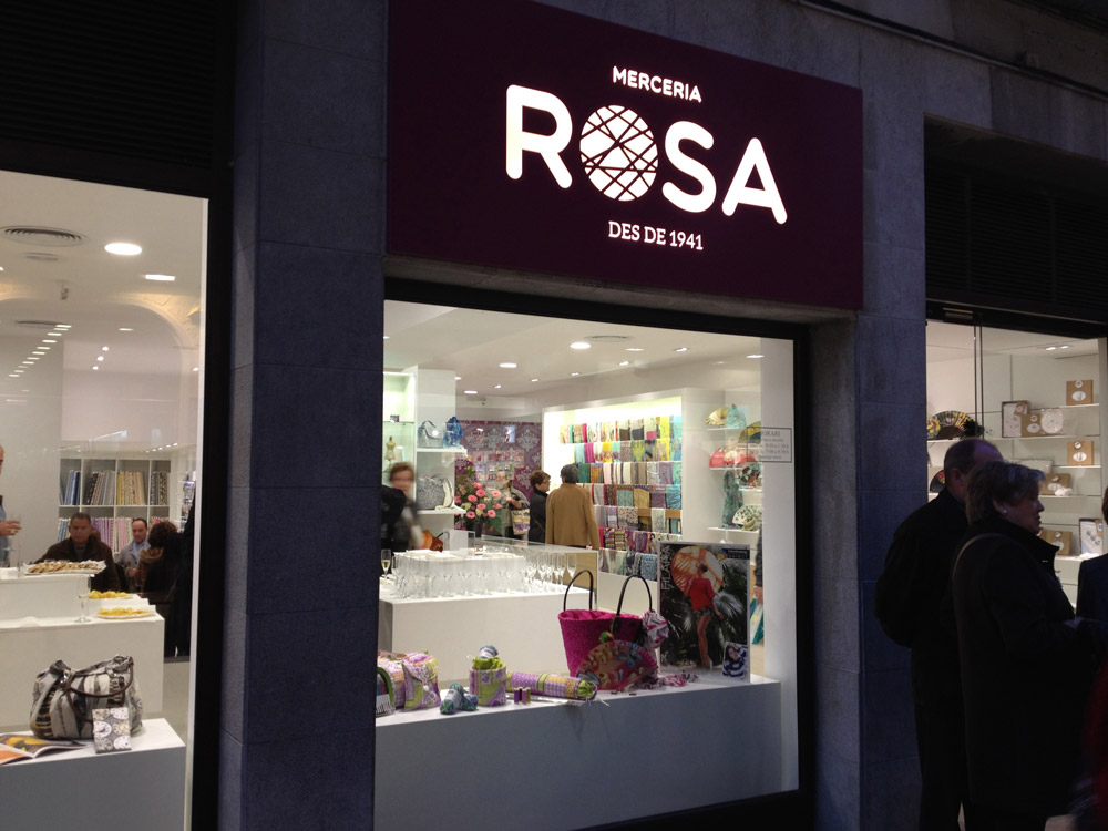 retols botiga, disseny gràfic logo branding comerç vilafranca, penedes, parellada