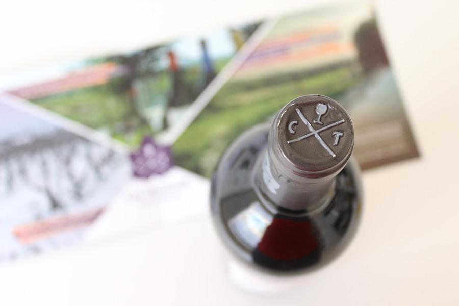 Disseny gràfic pàckaging vins Cal Teixidor Penedès