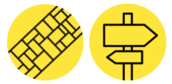 Disseny i redisseny servei corporatiu cami groc