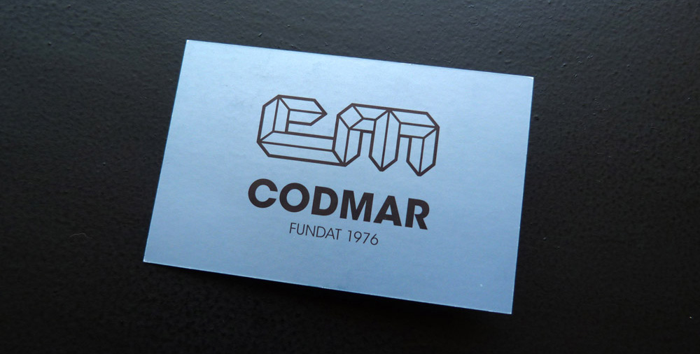 Redisseny logotip i targetes Codmar vilanova