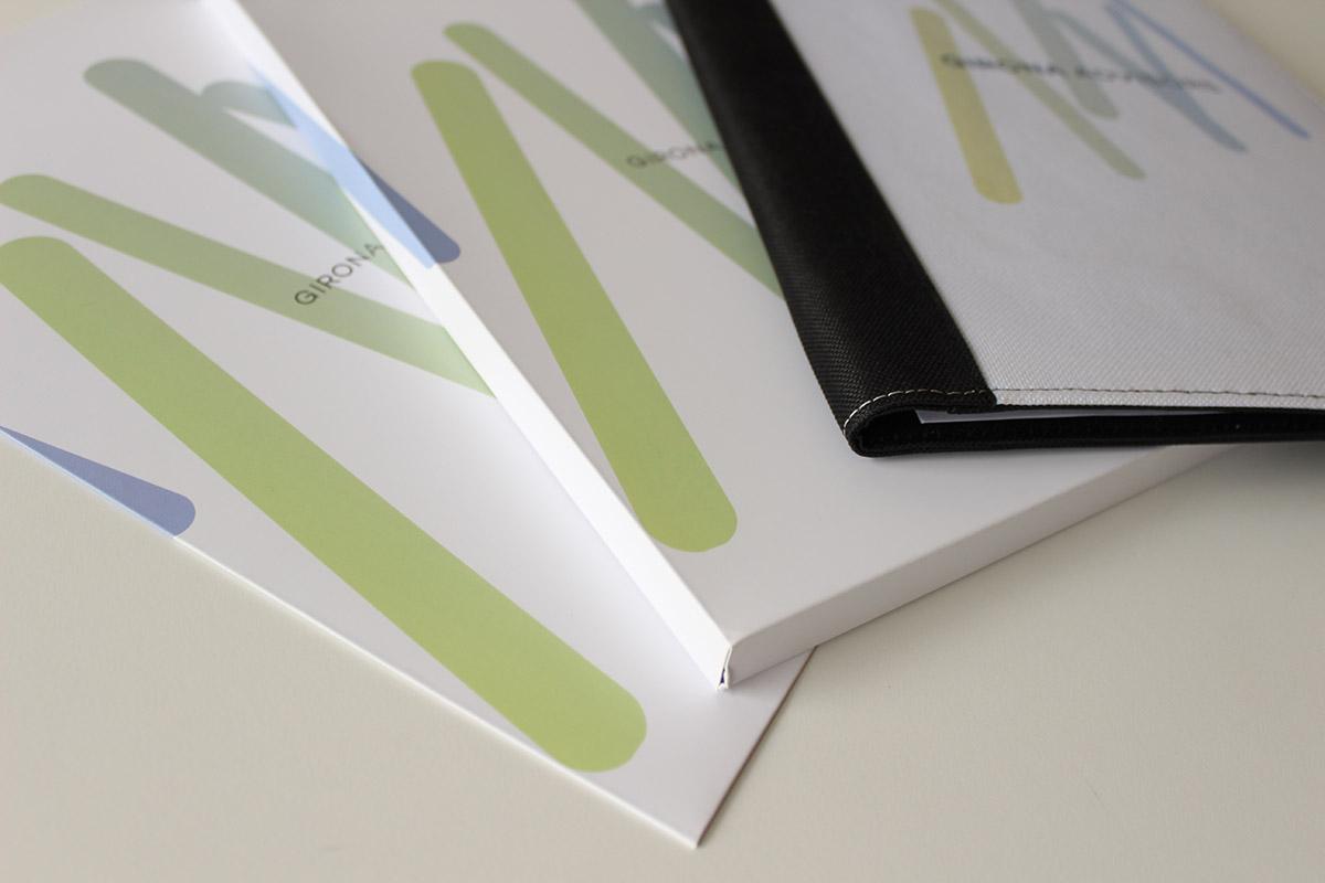 imatge corporativa, papereria, carpetes, disseny gràfic, gestoria de Sant Sadurní d'Anoia
