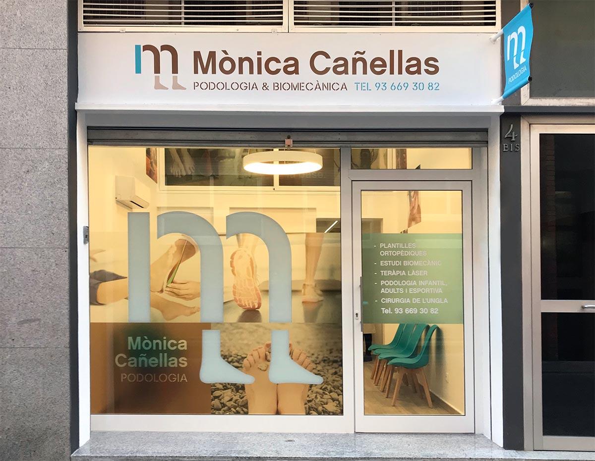 disseny de rètols façana i interiors consulta salut Vilafranca Penedès